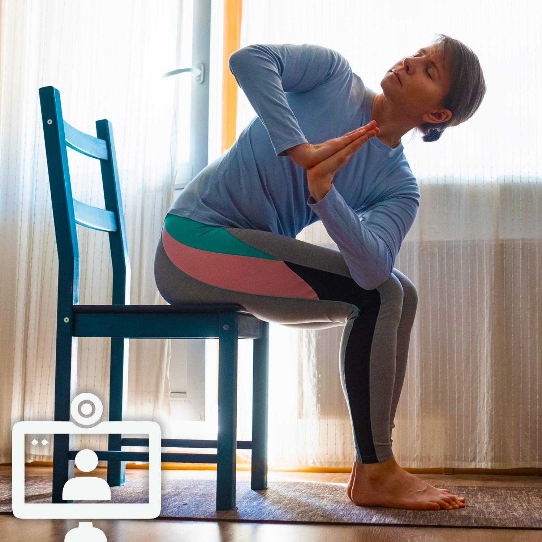 Chair Yoga Poses Zoom